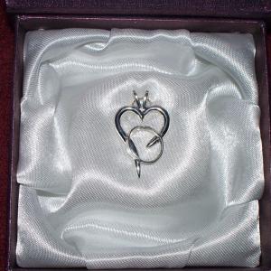 Rebecca's Hope Alzheimer's Awareness Pendent Gardiner's Jewelry