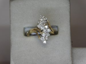 Diamond Waterfall Ring Gardiner's Jewelry Sales and Repair