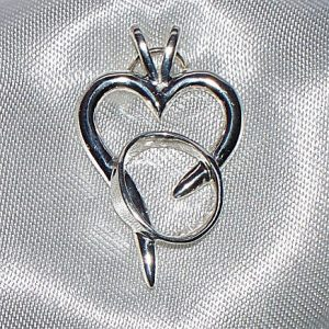 Rebecca's Hope Pendant Alzheimer's Awareness pendant Gardiner's Jewelry Sales and Repair